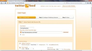 Twitterfeed: Automatically Syndicate Blog Posts / RSS feed to Twitter with Twitterfeed