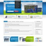 Winning Website Design from 99designs