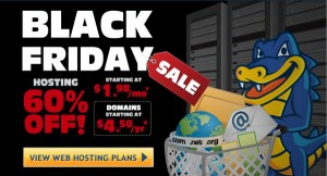 Black Friday Hosting Coupons 2016: Hostgator, BlueHost, WPEngine, iPage, GoDaddy